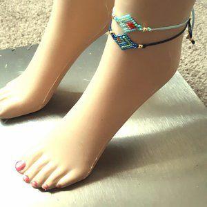 Handmade Wrist or Ankle Bracelet